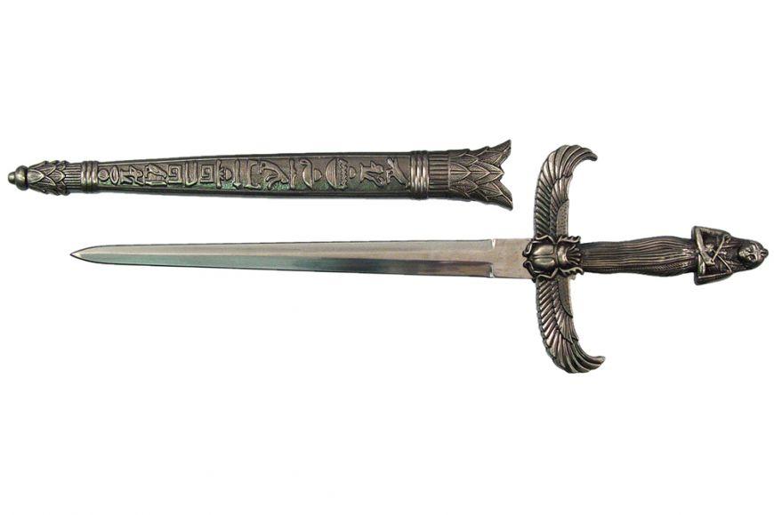"""12 7/8"""" Egyptian Queen Dagger"""