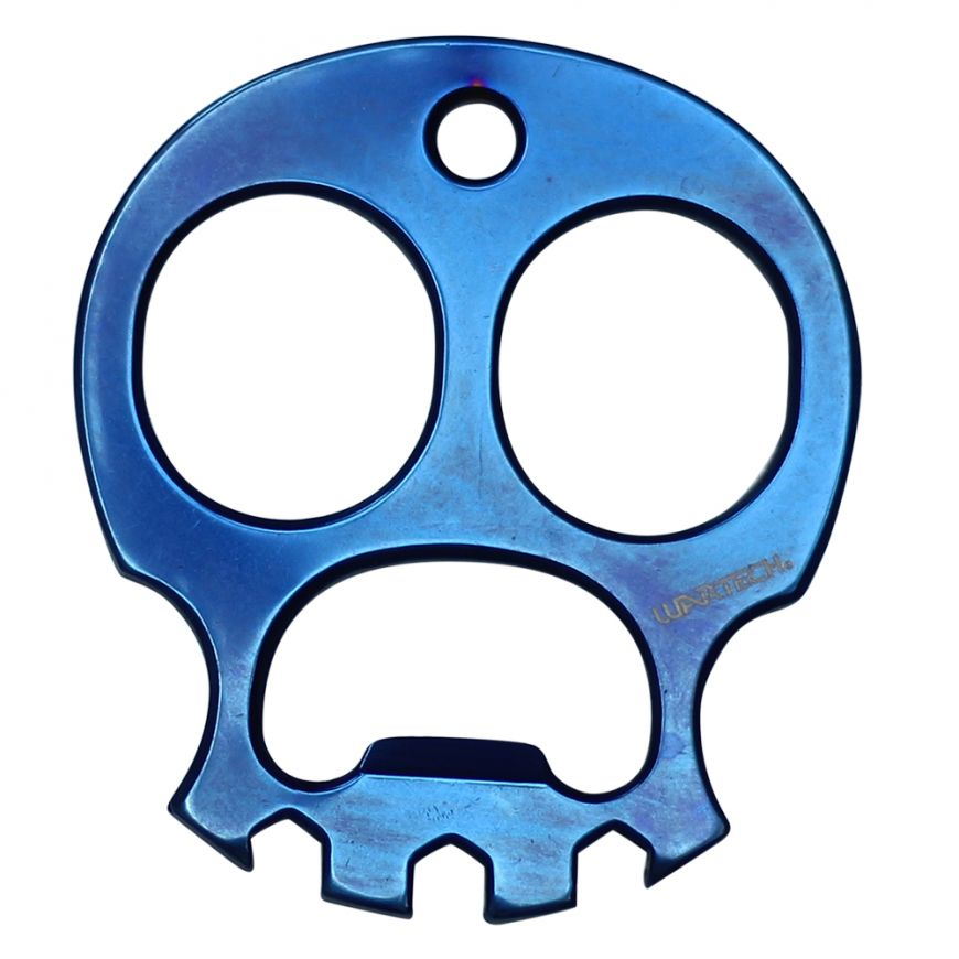 Blue Skull Knuckle