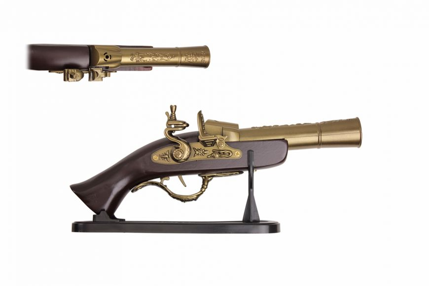 "12 1/2"" Replica Gun w/ Display"