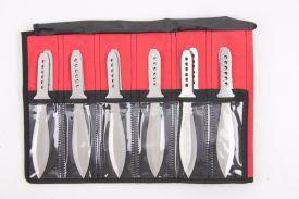 9 12PCS JUMBO THROWING KNIFE-inch