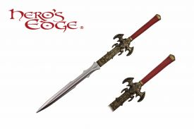 "Hero's Edge, 45"" Foam Fire Sword"