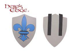 Foam Fluer-De-Lys Heraldic Shield