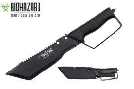 15 zombie hunting machete-inch
