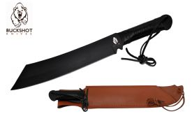 17.3 BLACK BLADE WITH LEATHER SHEET-inch