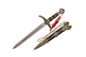 "18 3/4"" Robin Hood Brass Dagger"