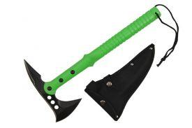 15.5 zombie axe green handle-inch