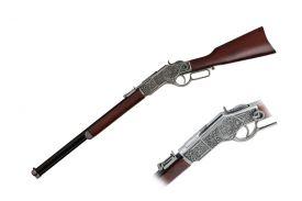 "37 1/2"" Vintage Rifle Replica, Includes Display"