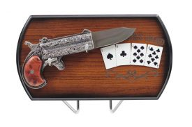 """9"""" Revolver Knife, Include Display"""