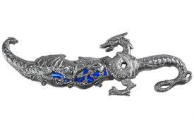 10 METAL DRAGON DAGGER-inch