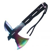 "8"" Fixed Blade Rainbow Wartech Throwing Axe"