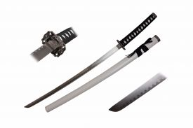 40-inch 1PCS Katana White Sword w  Square Guard