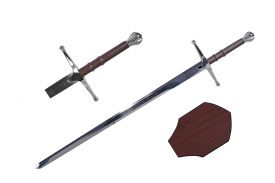 43 SWORD WITH PLAQUE-inch