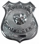 Special Officer Badge (Silver)