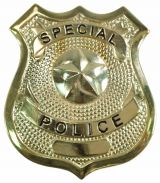 Special Police Badge (Gold)