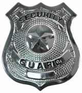Security Guard Badge (Silver)