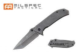 "7.5"" Tanto Point Stonewashed Milspec Knife"