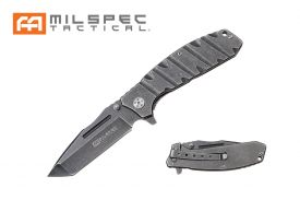 "8"" Tanto Point Stonewashed Milspec Knife"