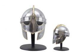 Viking Helmet w  Gold Accents