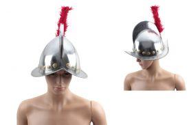 "16"" Conquistador Helmet With Plume"