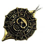 Pirate Medallion Necklace Knife