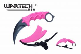 7.5-inch Pink Necklace Knife