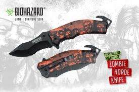 "8"" Tony Moore's Signature Zombie Horde Rescue Knife"