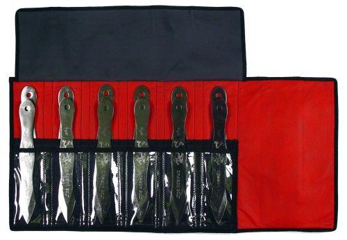 9-inch 12PCS JUMBO THROWING KNIFE