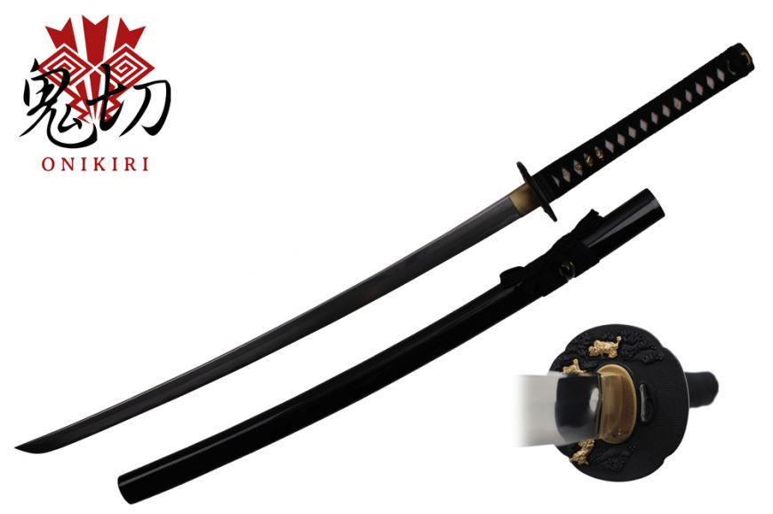 1060 carbon steel Black sheath real ray skin handle