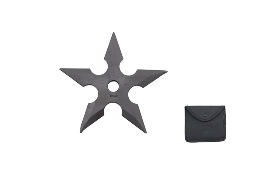 """5"""" 1 Pc Rubber Throwing Star"""