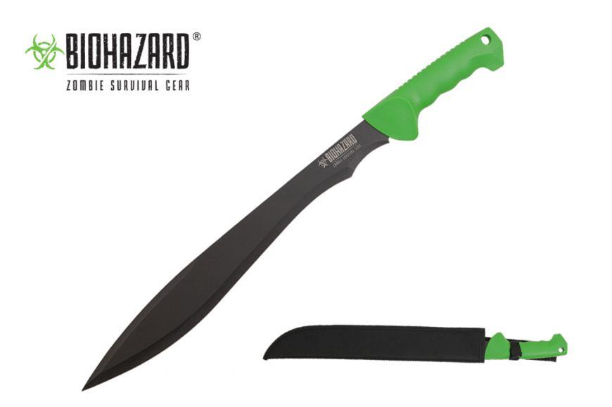 """23.75"""" Biohazard Machete"""
