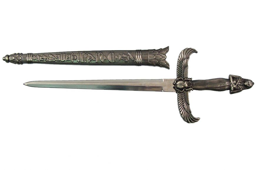 "12 7/8"" Egyptian Queen Dagger"