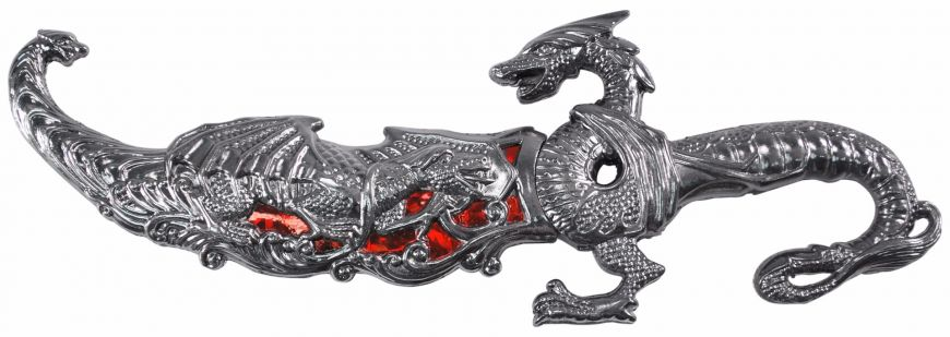 10 METAL DRAGON DAGGER-inch