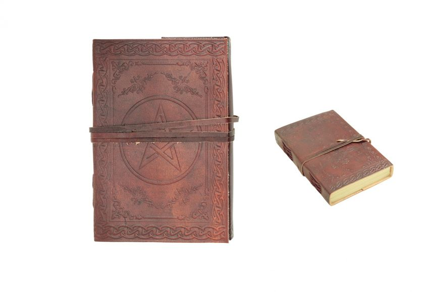 "4.8"" x 7"" Medieval Diaries w/ Pentagram Design Discontinue once we sell out"