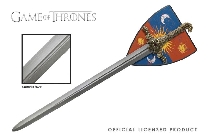 Game of Thrones, Brienne of Tarth's Oathkeeper (Damascus Blade)
