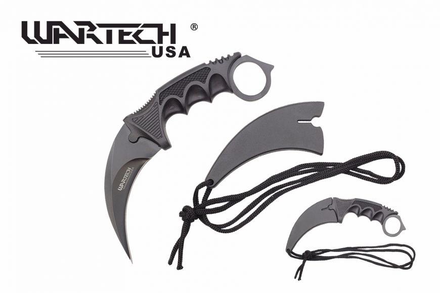 7.5-inch Black Necklace Knife