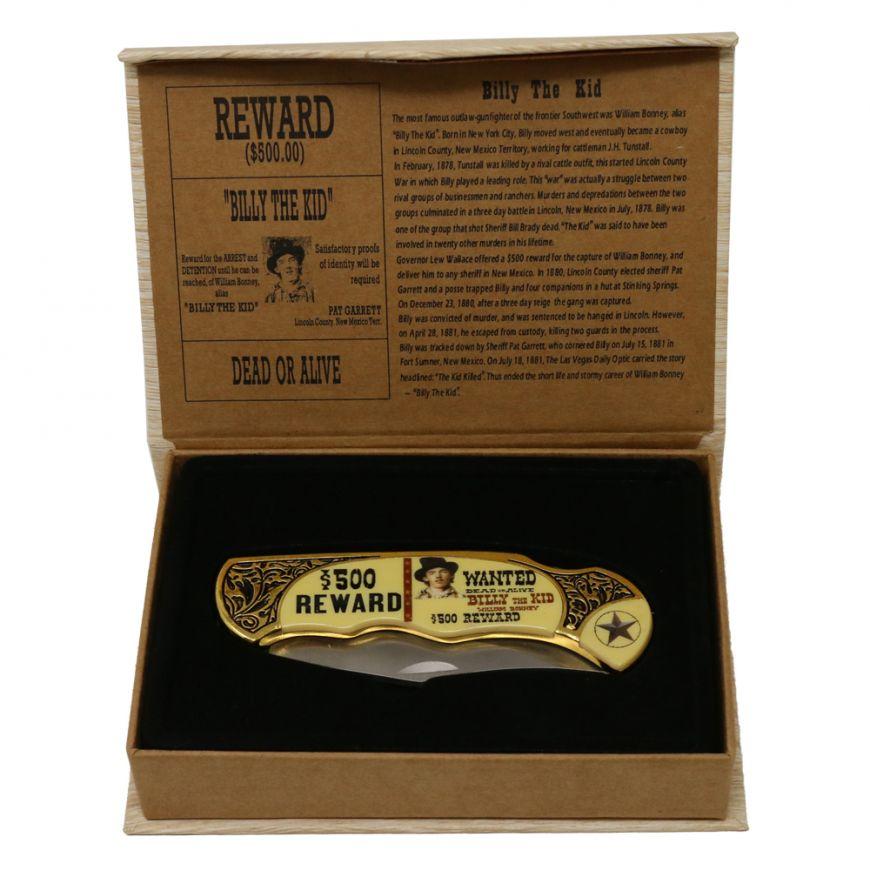 Billy the kid Memorabilia knife
