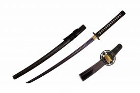 42-inch 1045 Carbon Steel w  Engraved Scabbard, Sword Bag and Certificate