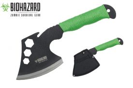 12 zombie Tool axe 4mm blade with sheath-inch