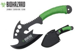 12 zombie Axe with green cord-inch