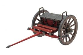 "11 1/2"" Civil War Limber Cart"