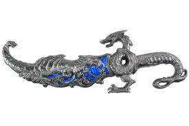 17.5 METAL DRAGON DAGGER-inch