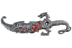 17.5 METAL DRAGON DAGGER-inch