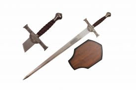 43-inch Macleoo Sword w  Wooden Plaque