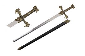 43 SWORD WITH SHEATH-inch