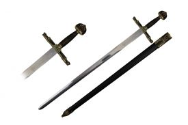 45 SWORD WITH SCABBARD-inch 49-inch