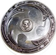 =>M-651 PIRATE SKULL BELT BUCKLE