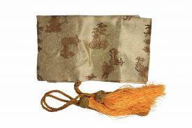 Silk Sword Bag (Gold)