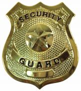 Security Guard Badge (Gold)