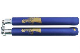 (NC332-BL) CHAIN FOAM CHUCK BLUE BRUCE LEE