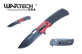 "8.5"" Pocket Knife w/ Flash Light"